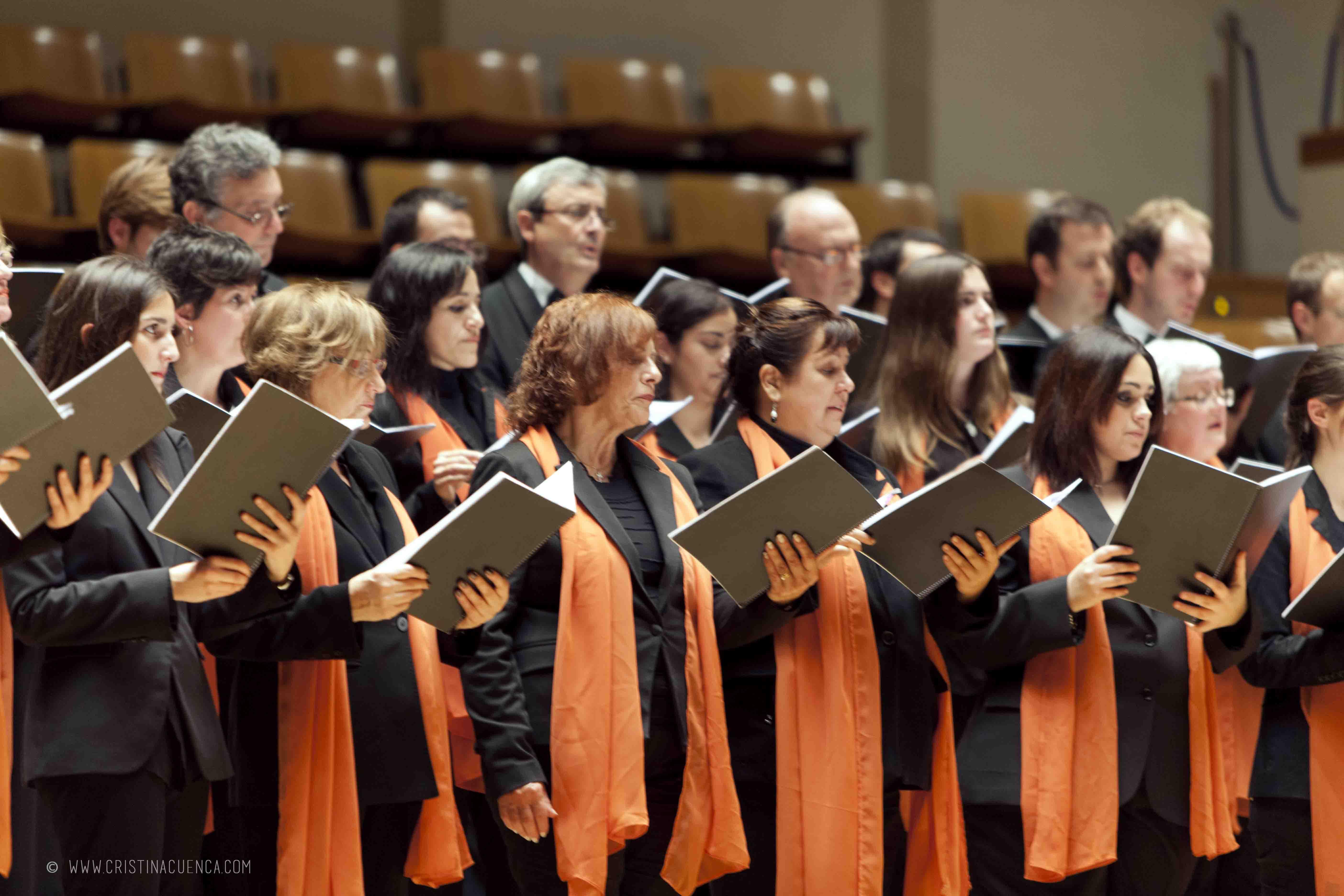 ¿Quieres cantar con el Coro de la UPV?