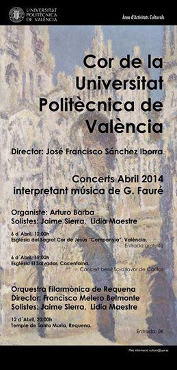 Conciertos Abril 2014