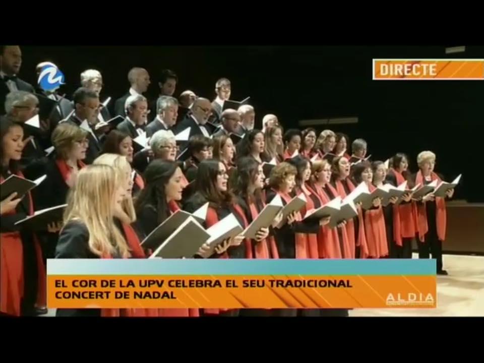 El Concierto de Navidad 2014 en la UPV en Directo en Mediterraneo TV