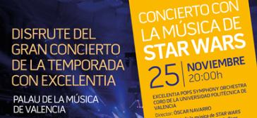 """Participación en """"Star Wars en concierto"""""""